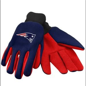 New England Patriots FOCO Utility Gloves